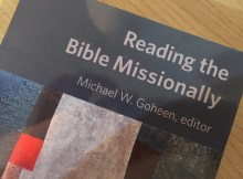 Books I Have Read: Reading the Bible Missionally