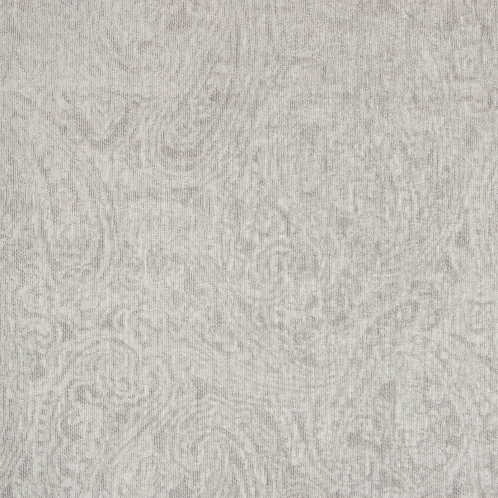 Polar Gray Solid Jacquard Upholstery Fabric