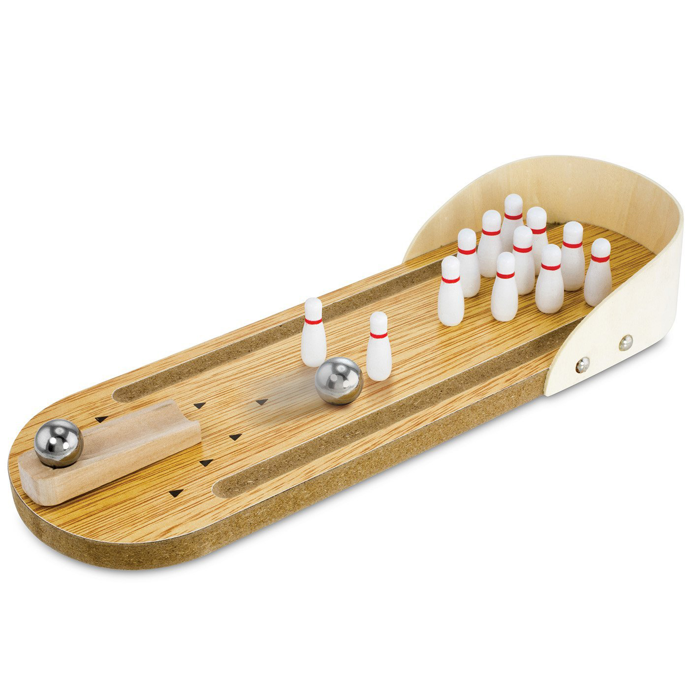 Mini Wooden Tabletop Bowling Game KOVOT