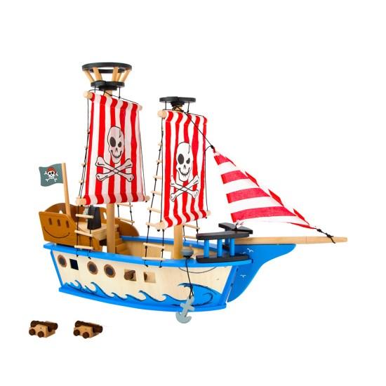 Barco pirata Madera