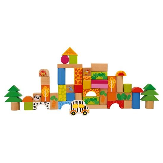 ZOO bloques de construcción en madera