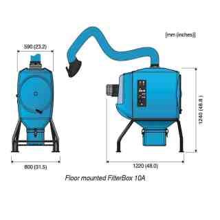 FilterBox 10A stacionární - foto