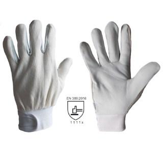 PEDRO pracovní kombinované rukavice z lícové kozinky - foto 1