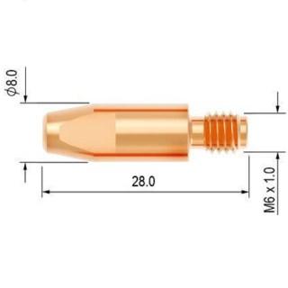 Průvlak 1.6 M6/8 E-Cu PARKER