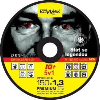 Řezný kotouč Kowax IQ+ 5v1 150 x 1,3 x 22,2 - foto 1