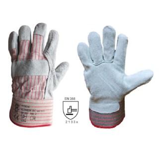 KOMBIK BC kombinované pracovní rukavice ze štípené hověziny - foto 1