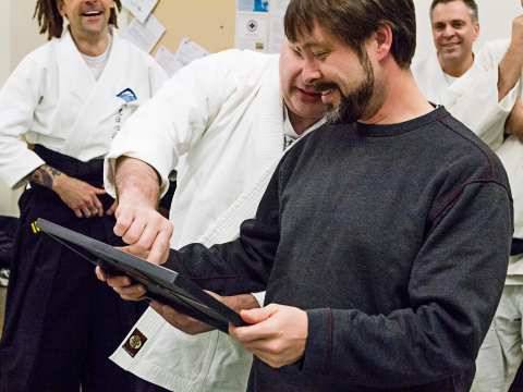 Shihan Reynolds and Chris review the certificate