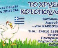 Ψητοπωλείο «Το Χρυσό Κοτόπουλο» στην Κοζάνη