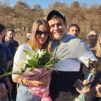 Βίντεο: Πρόταση γάμου σε αγώνα Scramble στα Γρεβενά από τον Χάρη Μανώλα από την Κοζάνη στην εκλεκτή της καρδιάς του Ζωή