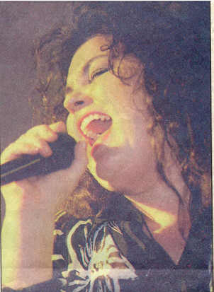 Lead singer for Kozmic Mama