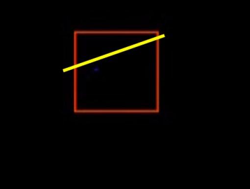 Yıldızın hareket doğrultusu, fakat karadeliğe yaklaştıkça karadeliğe doğru eğriselleşecek.