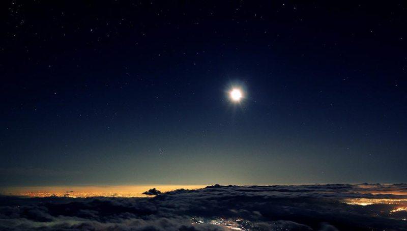 Landscape-Sky-Moon