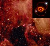 SN1987A'nın Büyük Macellan Bulutu içerisinde bulunduğu konum.