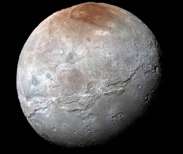 Plüton'un en büyük uydusu Charon