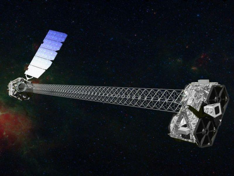 2012'den bu yana karadelikler üzerine araştırma yapmakta olan NuSTAR uzay teleskobu.
