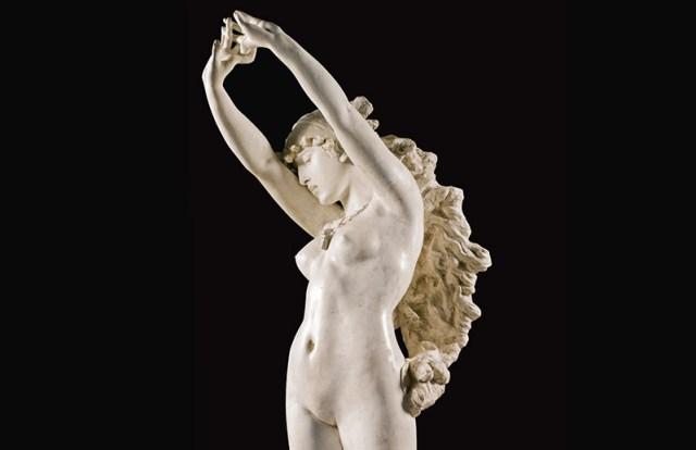 İtalyan heykeltraş Borghi Ambrogio tarafından 1800'lü yıllarda yapılmış olan heykelde, mitolojik karakter Berenice ve ünlü saçları tasvir edilmiş.