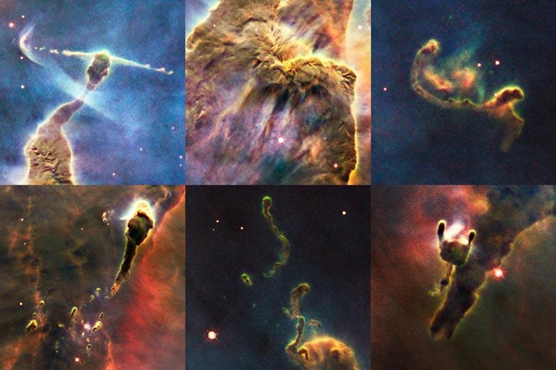 Herbig-Haro Hubble