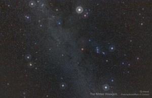 Gökyüzünün Geometrisi: Kış Altıgeni