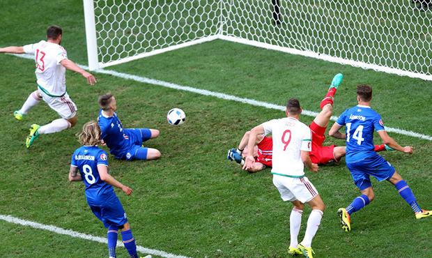 Ízland-Magyarország 1-1, az öngól-www.blikk.hu