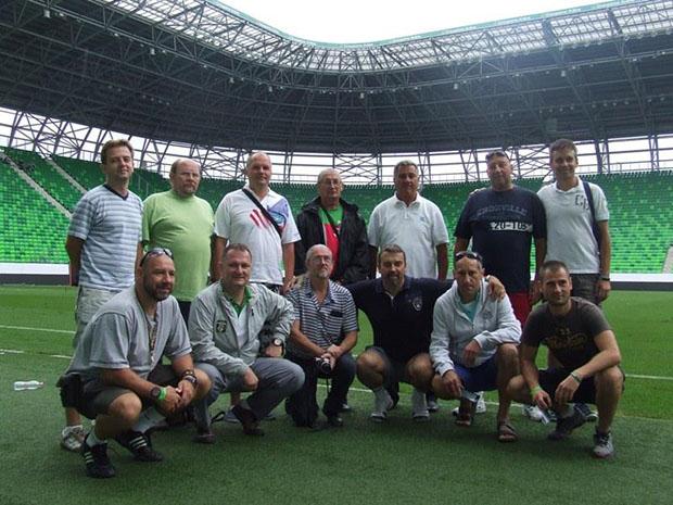 A PRESSing csapata a Grupama Arénában