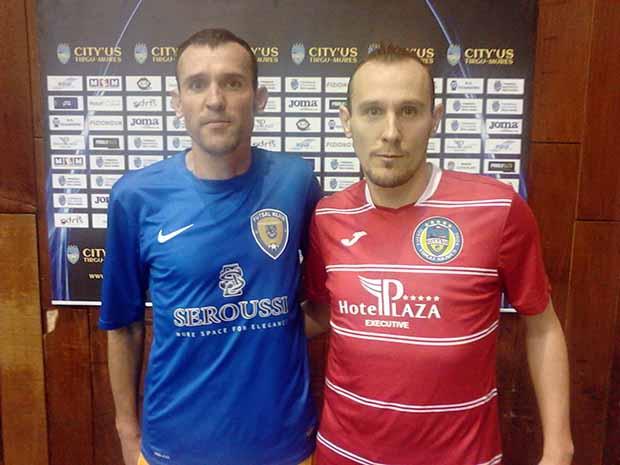 Balról Csoma Ferenc és Alpár