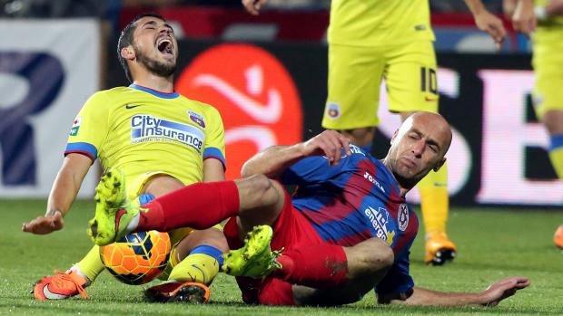 G. Muresan belépője egy Steaua elleni találkozón