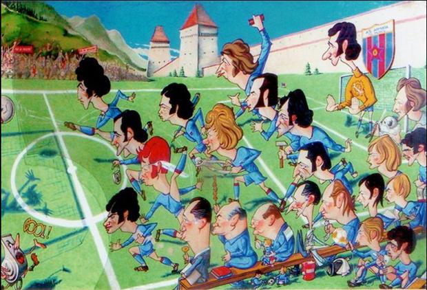 Karikatúra a 70-es évek ASA-járól