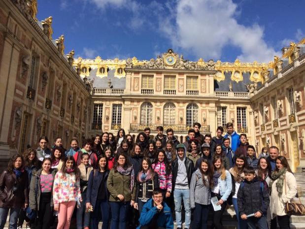 Párizs, Versailles-i palotában