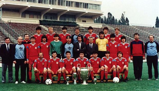 Steaua Bukarest 1986.