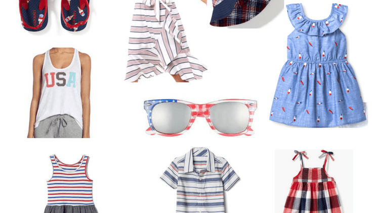 Fourth of July Style for Mamas and Littles