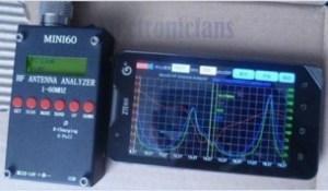 mini60 ant analyzer - Las Baterias en Serie o Paralelo?