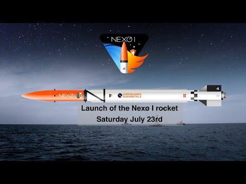 0 16 - Nexø me Cohete Lanzado desde el Mar Báltico, Seguimiento a través de Radio Amateur