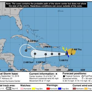 090133 5day cone no line and wind 300x300 - Boletín Tormenta Tropical Isaac, jueves 13 de septiembre de 2018, 5:00am