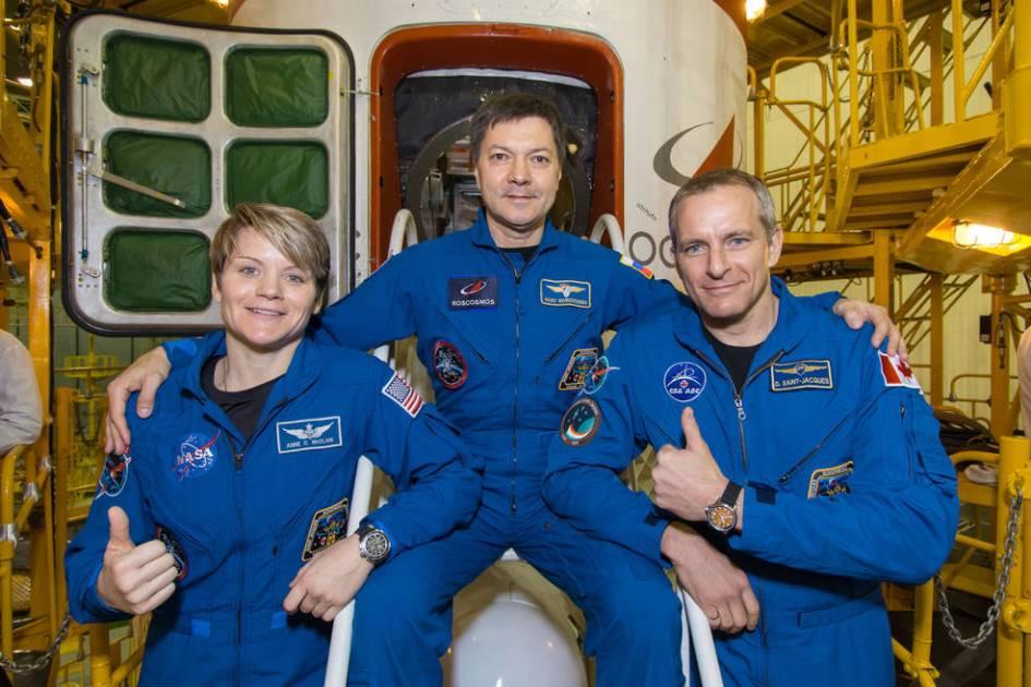 La nueva tripulación de la ISS de dos radioaficionados lanzada a la ISS es la primera desde el vuelo abortado de octubre, KP3AV Systems