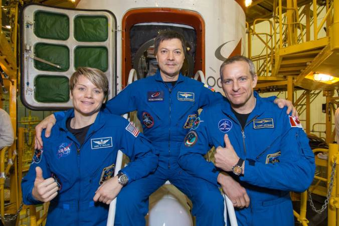 ISS Exp 58 - La nueva tripulación de la ISS de dos radioaficionados lanzada a la ISS es la primera desde el vuelo abortado de octubre