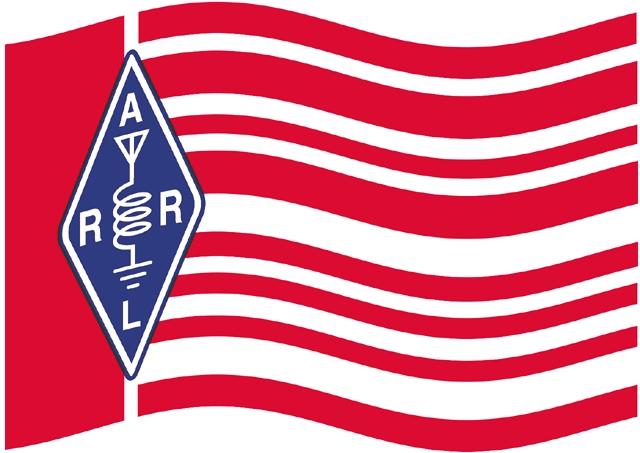 ARRL Flag waving Large 49 - ARRL Suspende los tours y visitas de invitados a la sede, W1AW