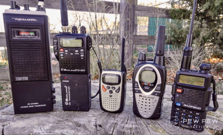 Comparación de uso de los radios de AFICIONADOS (KP4) / GMRS / CB en un video, KP3AV Systems