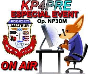 Evento especial conmemorativo hoy, Reportate por nuestro RPT, KP3AV Systems