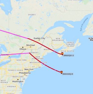 Balloons KK6UUQ and KN6EQU APRS map - ARISS Invites Proposals to Host Ham Radio Contacts with Space Station Crew