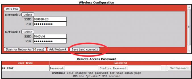 conectar wifi - Configuración de WiFi para MMDVM / Pi-star Simplex Hotspot