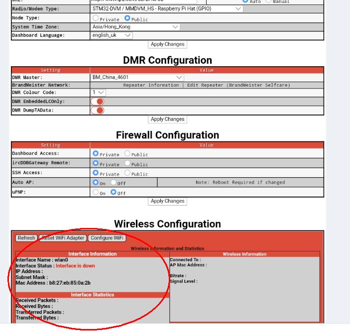 Configuración de WiFi para MMDVM / Pi-star Simplex Hotspot, KP3AV Systems