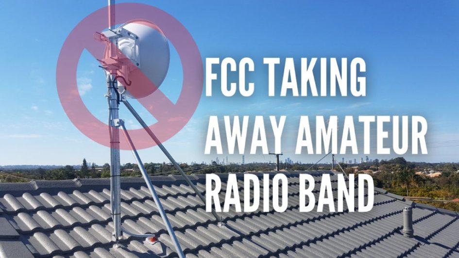 FCC se llevará otra banda de radioaficionados en 2021, KP3AV Systems