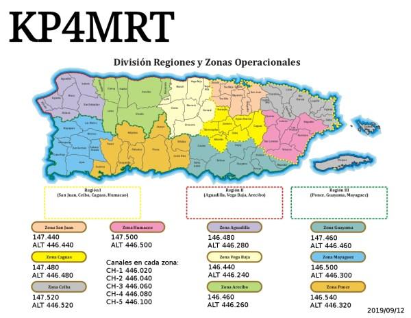 MapaZonaSimplexKP4MRT - Mañana activacion KP4MRT desde Humacao por 147.500