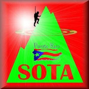 Sota Logo - Summit on The Air S061 desde Ceiba mira el video
