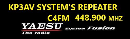 c4fm fusion 1 - Repetidor C4FM de Puerto Rico ACTIVO y conectado a Reflector de YSF y a Room WIREX