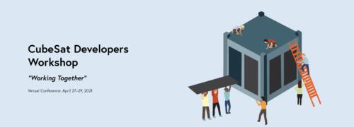 cubesat developers workshop 2021 500x180 1 - El taller virtual para desarrolladores de CubeSat se realizará del 27 al 29 de abril