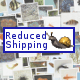 Reduced Shipping Items