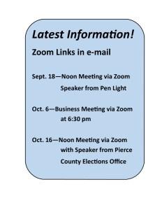 KPBA latest information September October 2020