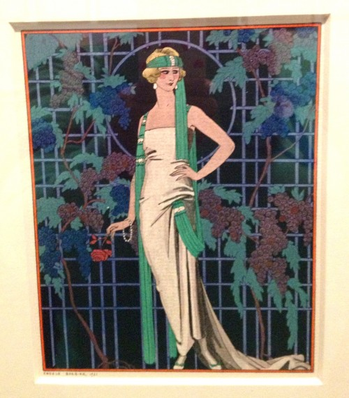 George_Barbier_Roses_in_the_Night_ Worth_Evening_Coat,_1921. - Edited