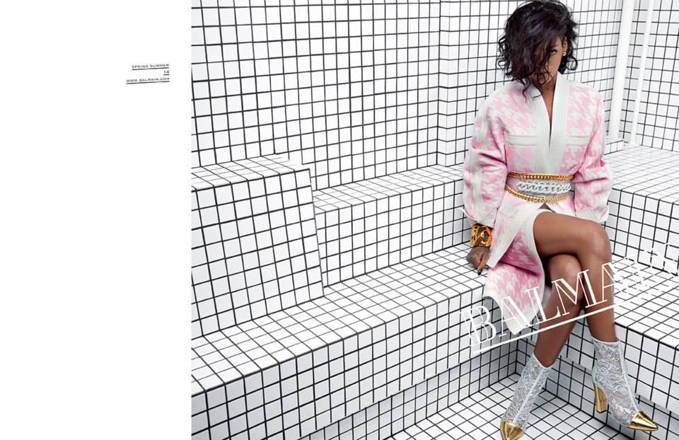 Rihanna-BalmainSS14-5